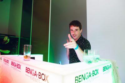 Dj, Dj Booth, Event Venue, Industrial Venue,, Benga Box, entrance, BYO Venue, Late Night Venue