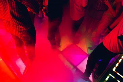 Smoke Machine, Dancefloor, Event Venue, Industrial Venue,, Benga Box, entrance, BYO Venue, Late Night Venue